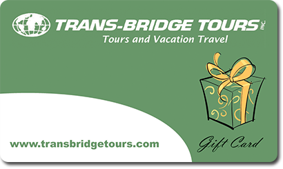 Trans-Bridge Tours Gift Card