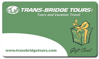 Trans-Bridge Tours Gift Card Logo