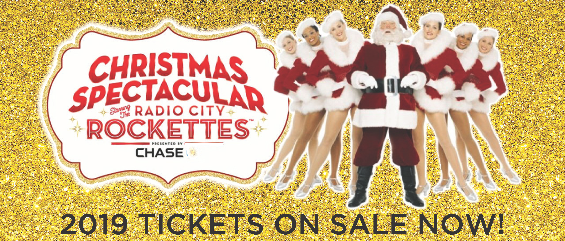 Radio City Christmas Spectacular Banner