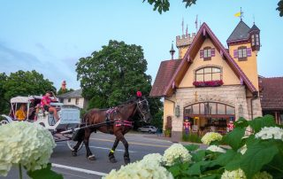 @steph.castelein - Horse Carriage in Frankenmuth