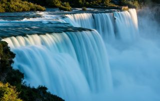 American & Bridal Veil Falls - Photo Credit Destination Niagara USA