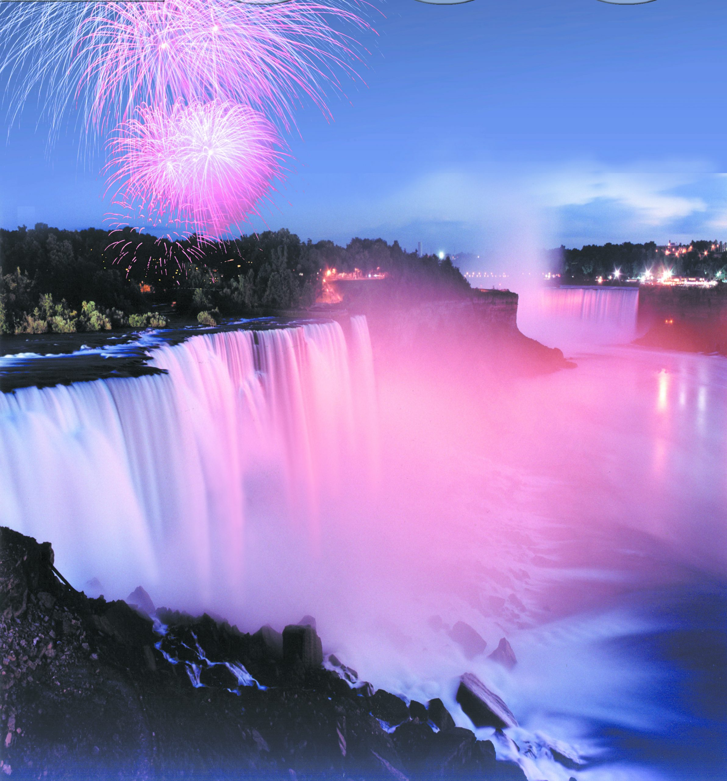 Fireworks at the Falls - Photo Credit Destination Niagara USA