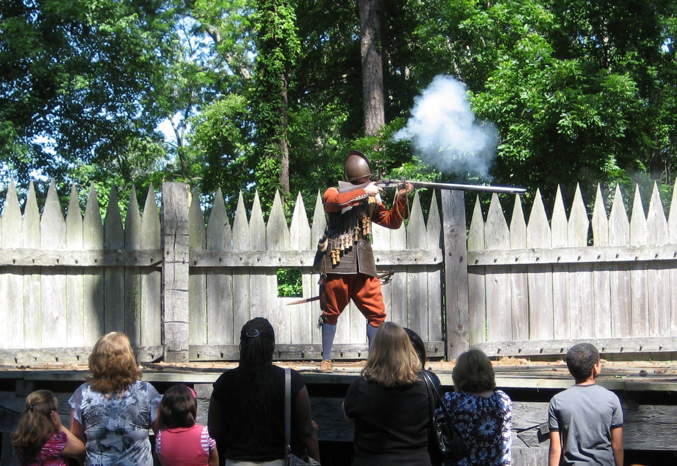 JS-fort-matchlock-musket-firing