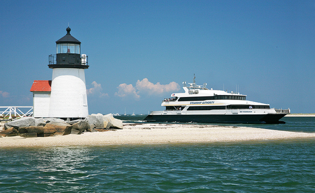 Lyanough Rounding Brant Point Nantucket, Credit Michael Galvin