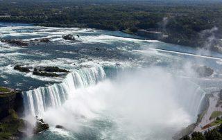 Niagara Falls -overhead