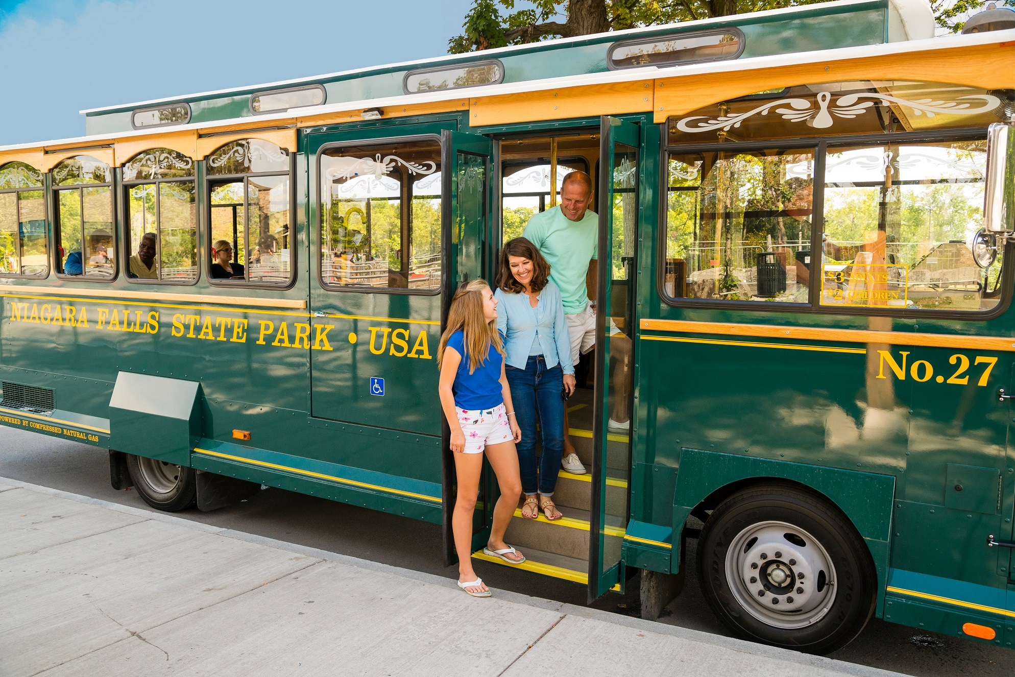 Niagara Scenic Trolley - Photo Credit Destination Niagara USA